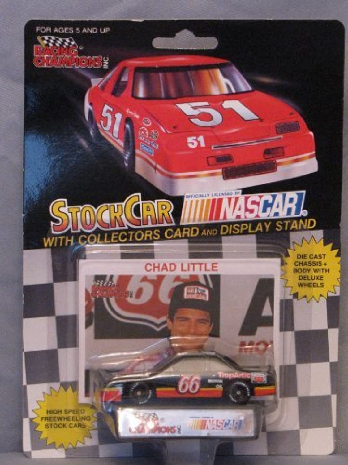 1992 Racing Champions  66 Chad Little by Racing Champions