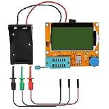 12864 Mega328 ESR Transistor Resistor Diode Capacitor Mosfet Tester with Test hook