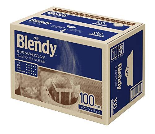 スマートマットライト AGF ブレンディ レギュラーコーヒー ドリップパック キリマンジャロブレンド 100袋 【 ドリップコーヒー 】