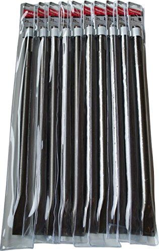MAKITA D-34213-10 D-34213-10-Set 10 cinceles SDS-MAX 25x400 mm, 0 W, 0 V