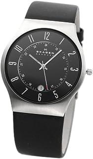 スカーゲン SKAGEN クオーツ 腕時計 233XXLSLB ブラック [並行輸入品]