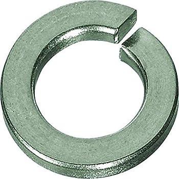 Federscheiben M10 Eisenwaren2000 rostfrei Sperringe Edelstahl A2 V2A - Federringe DIN 127 Form B 20 St/ück Sprengringe