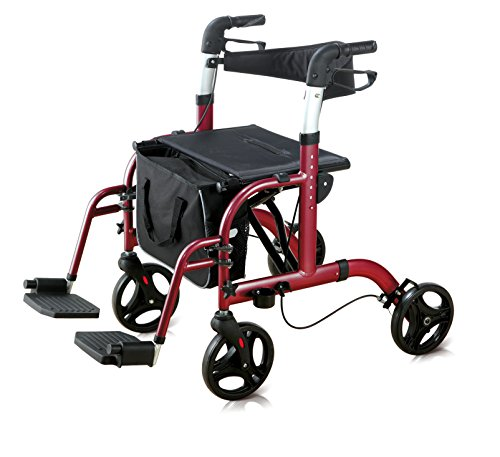 Rollator & Rollstuhl Rollator Lux 2in 1
