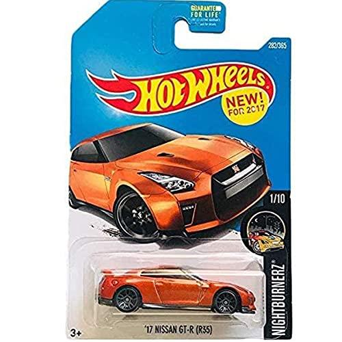 Hot Wheels '17 Nissan GT-R (R35) NightBurnerz 1/10 2017 (282/365) Long Card