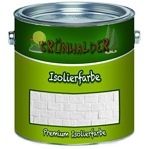 Grünwalder wandverf in wit isolatiekleur nicotineblokkering ANTI SCHIMMEL 1 L wit