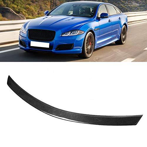 SHGE Coche Spoilers, Fibra 3D De Carbon 3D Spoiler Spoiler para Jaguar XJL 2014-2018 Accesorios para Automóviles Spoilers