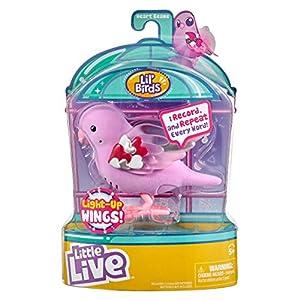 little live pets Series 8 Light Up Songbird Heart Beams con alas Ligeras