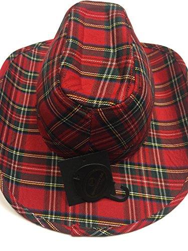 Royal Stewart Tartan Cowboy Hat
