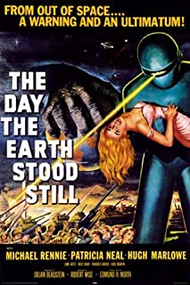 Posters: The Day The Earth Stood Still Poster - Michael Rennie By Robert Wise (36 x 24 inches)