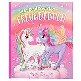 Depesche 11112 Freundebuch Kindergarten Freunde, Ylvi und die Minimoomis, ca. 18,5 x 22 x 1,5 cm