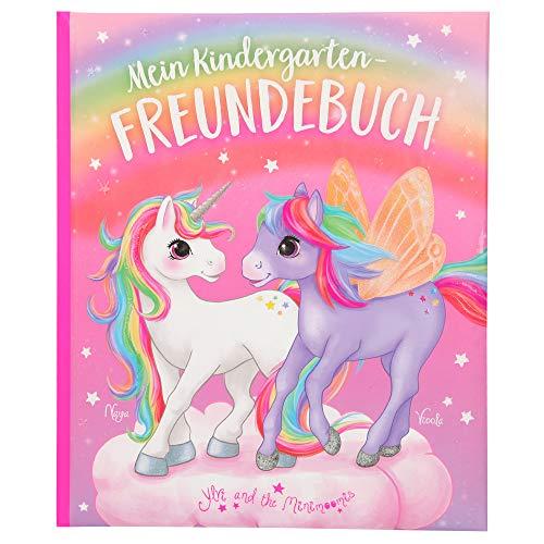 Depesche 11112 Ylvi - Kindergarten-Freundebuch mit zauberhaftem Einhorn Design, Freundschaftsbuch mit 96 Seiten und viel Platz für die Eintragungen der Freunde, ca. 18,5 x 22 x 1,5 cm