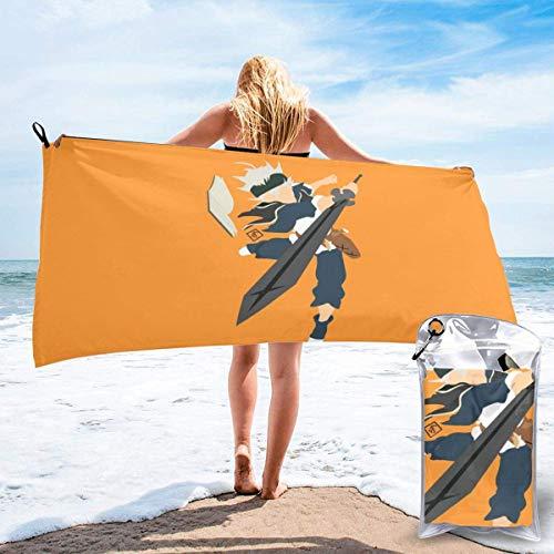 RTRTRT Black Clover Asta - Toalla de playa de microfibra de secado rápido, 28 x 55 pulgadas, toalla súper absorbente, toalla sin arena, para niños, adolescentes, adultos, viajes, gimnasio, camping, pi
