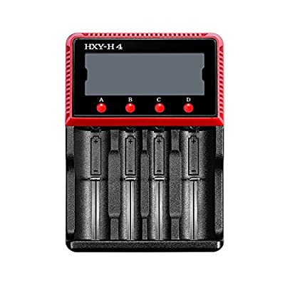 Vitovill Universal Intelligent Multifunction LCD Battery Charger with Fast Charging Function for Li-ion, LiFePO4, Ni-MH and Ni-CD Rechargeable Batteries