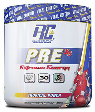 RCSS Pre-XS Pre-Workout Powder Trainingsbooster Booster Bodybuilding 165g (Tropical Punch)