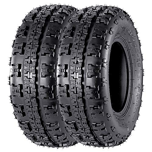 Set of 2 21x7-10 21x7x10 ATV Tires Sport Tires 4PR Tubeless