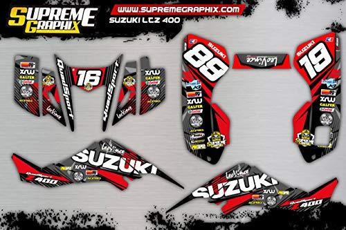 Kit Adhesivos Full Kit Suzuki LTZ 400 ADESIVI Sticker KLEBER
