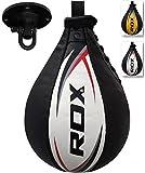 RDX Velocidad Bola Cuero MMA Peras Boxeo Pera Rápida Speed Bag...