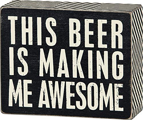 this beer is making me awesome - 1
