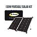 Go Power! GP-PSK-130 130W Portable Folding Solar Kit with 10 Amp Solar Controller (Renewed)