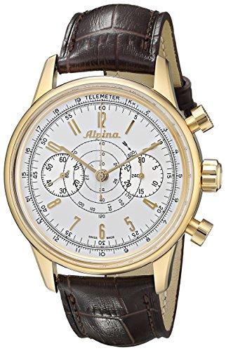 Alpina Geneve Alpina 130 Heritage Pilot Chronograph AL-860S4H5 Reloj para Hombres Alpina Rotor