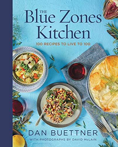 Christmas Gifts for Women Under $20 - The Blue Zones Kitchen: 100 Recipes to Live to 100