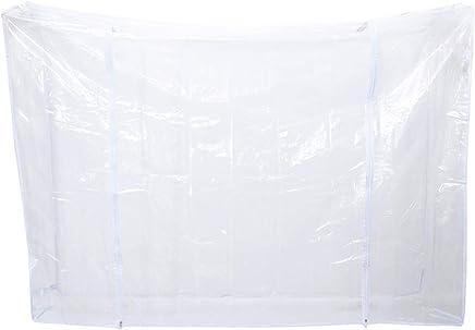 Vosarea 1.8x0.5x1.5M Ropa cubierta de polvo Cubierta de guardarropa transparente para oficina en casa