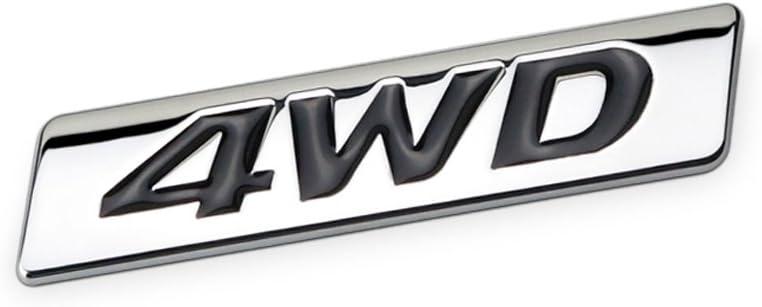 Dsycar 3d Metall 4wd Auto Aufkleber Logo Emblem Abzeichen Aufkleber Aufkleber Auto Styling Diy Dekoration Zubehör Für Universal Cars Moto Fahrrad Auto Styling Dekorative Zubehör 1 Auto