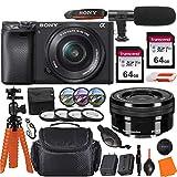 Sony Alpha a6400 Mirrorless Digital Camera with...