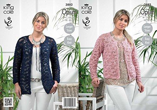 King Cole dames vest Opium breien patroon 3882