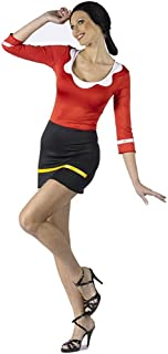 Fun World Women's Popeye-Sexy Olive OYL Costume