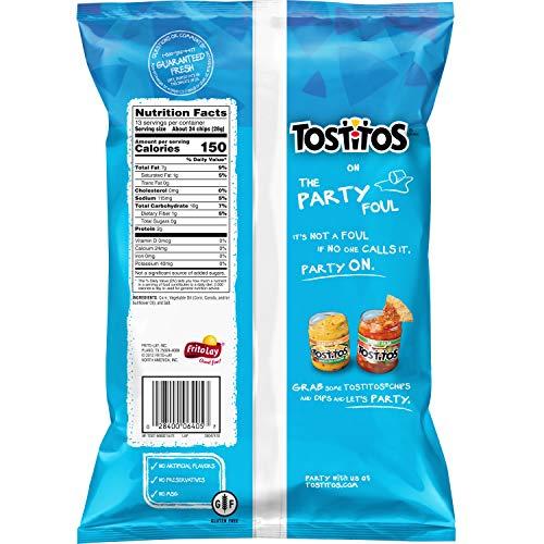 Tostitos Tortilla Chips, Bitesized Rounds, 13 oz