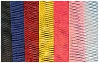 Trident Premium Stretch Vinyl Mesh Air Cylinder Sleeve, Primary Colors
