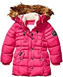 Weatherproof Girls' Toddler Fashion Outerwear Jacket (More Styles Available), Paprika Puffer Fuchsia, 2T
