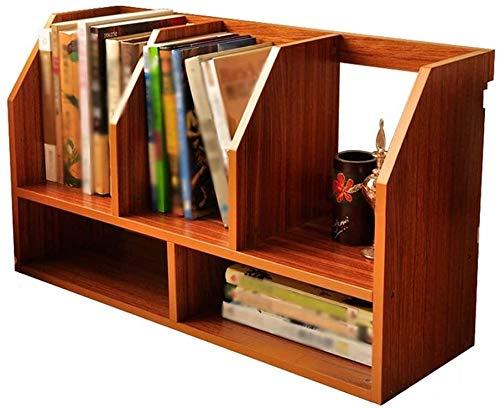 DaPengNB Librería Desktop Small Bookshelf Simple de Dos Capas Mini Organizer multifunción Adecuado para Estudiantes / Hogar / Oficina Estante de Escritorio