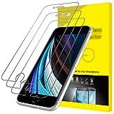 JETech Schutzfolie für iPhone SE 2020 4,7 Zoll, Folie Panzerglas Displayschutzfolie, 3 Stück