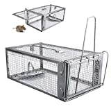 12x6.7x5.5'' Large Live Cage Trap or Rabbits, Stray Cat, Squirrel
