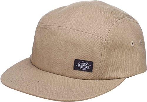 Dickies Premont Camp Cap Baseballcap Basecap Flat Brim Camper-Cap (One Size - Khaki)