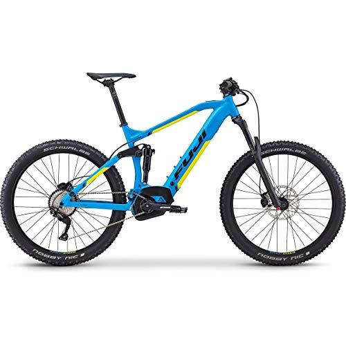 Fuji Blackhill Evo LT 27.5+ 1.3 Intl E-Bike 2019 Satin Cyan 54cm (21