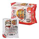 アイリスオーヤマ パック ごはん 国産米 100% 低温製法米のおいしいごはん 非常食 米 レトルト 180g×10個