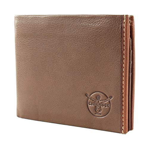 Chiemsee Herren Geldbörse Portemonnaie Geldbeutel Braun 8179