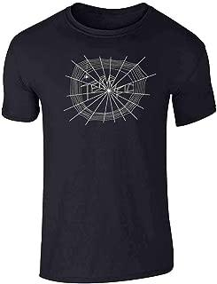 spider web t shirt cut