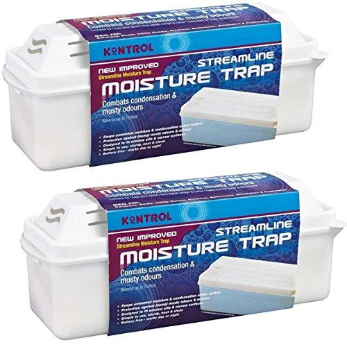Pack of 2 x Kontrol Streamline Moisture Absorber Traps