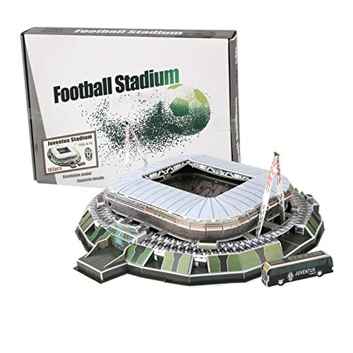 GFITNHSKI 3D Stadion Puzzles, Manchester United Old Trafford Stadium 3D Puzzle, Fußballplatz Modell, 3D Puzzlespiele für Erwachsene und Kind, DIY 3D Baumodell, Schlafzimmer, Bürodekoration