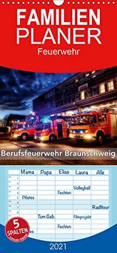 Berufsfeuerwehr Braunschweig - Familienplaner hoch (Wandkalender 2021, 21 cm x 45 cm, hoch)