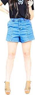 Women's Light wash Denim Shorts