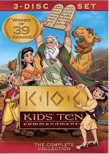 Dix commandements pour enfants.