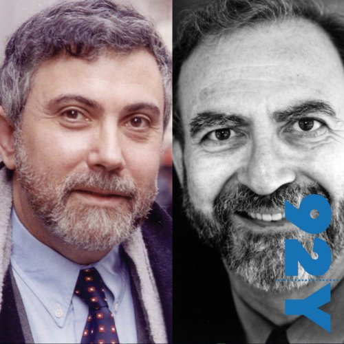 Paul Krugman in Conversation with Leonard Lopate audiobook cover art