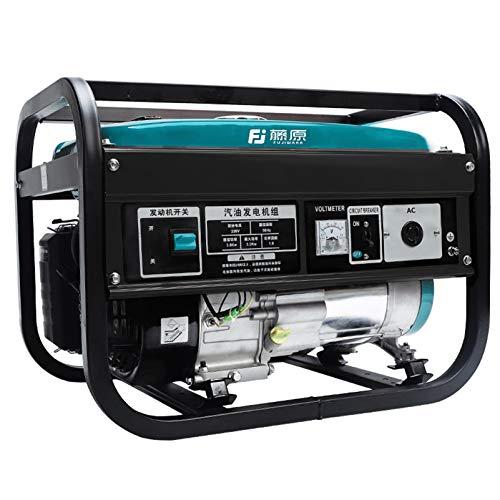 Grupo electrógeno pequeño generador portátil, generador de gasolina de bajo ruido generador...
