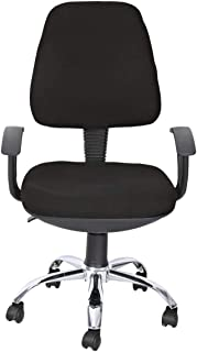 Galaxy Design Study Chair For Computer, Desk or Tabel with Hight Adjustable Jack and Wheels, Black, GDF-416
