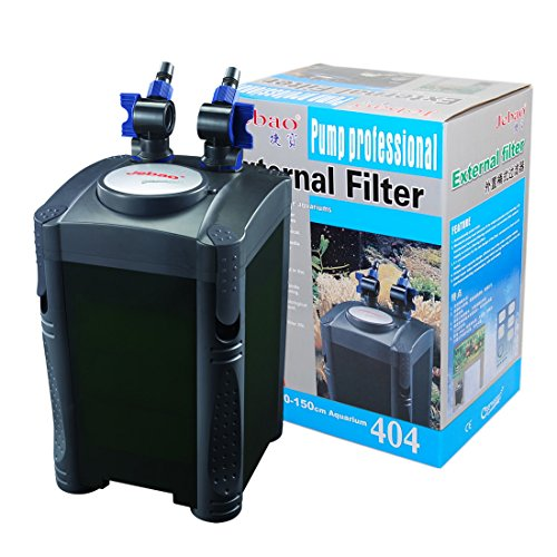 Jebao 4-Stage Aquarium Canister Filter 320 GPH